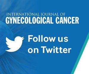 International Journal of Gynecological Cancer (IJGC) – ESGO