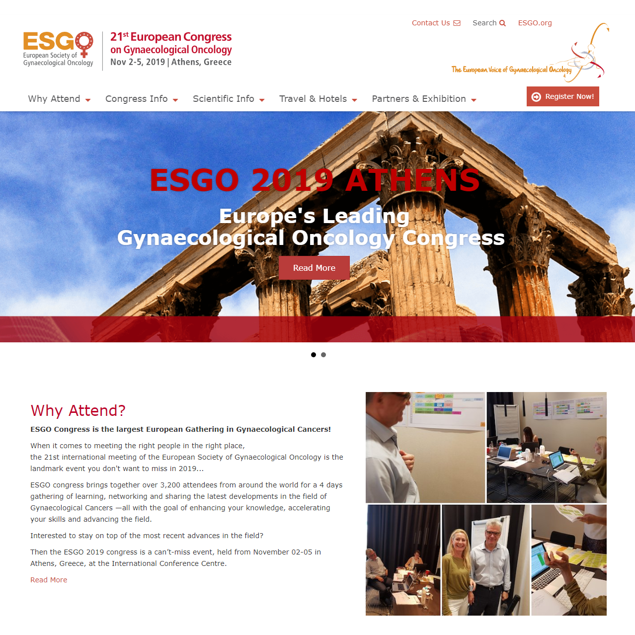 ESGO 2019 Congress