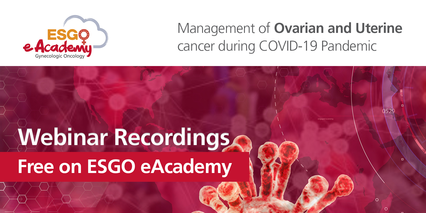 Covid 19 Webinars Esgo European Society Of Gynaecological Oncology Esgo European Society Of Gynaecological Oncology