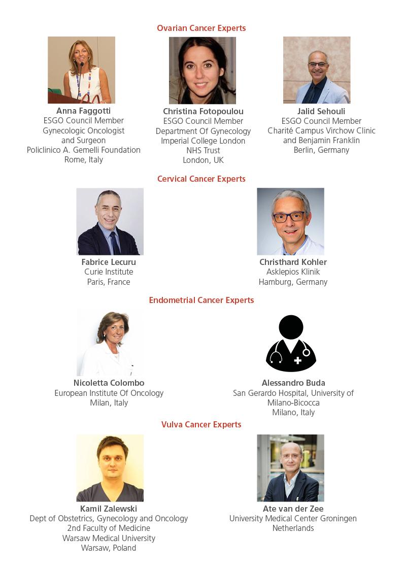 List of ESGO experts2