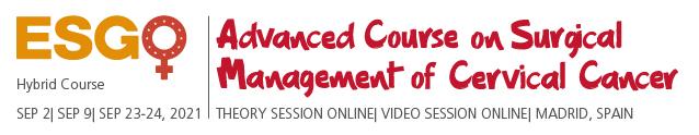 Advanced Course on Surgical Management of Cervical Cancer_LOGO_Kreslicí plátno 1