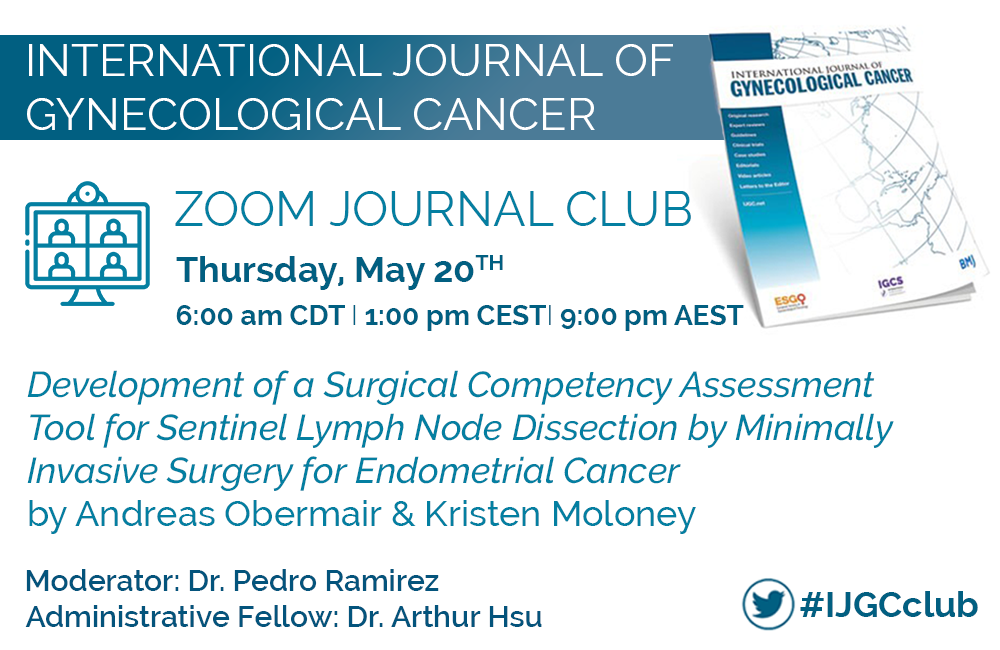 May Zoom Journal Club 1000x650